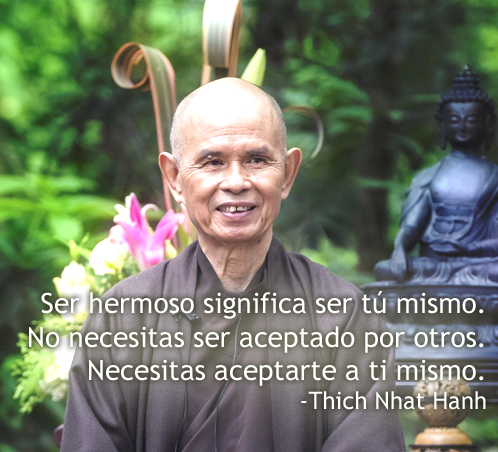 Maestro Thay / Thich Nhat Hanh – APRENDE A VIVIR EN EL AQUI Y EL AHORA!!!